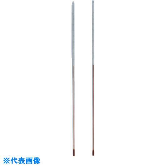 ■TGK 赤液棒状温度計 脚長 0-200℃ 900L〔品番:801-53-07-23〕【1844316:0】