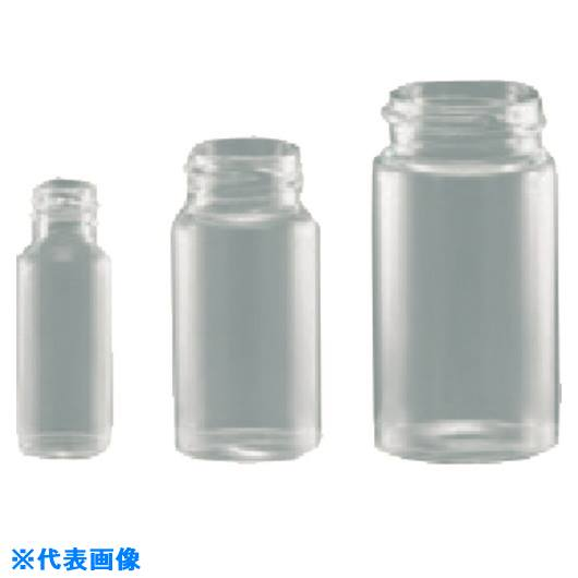 ■TGK ねじ口瓶白SV-100 瓶のみ 25本入〔品番:717-00-04-29〕【1845639:0】