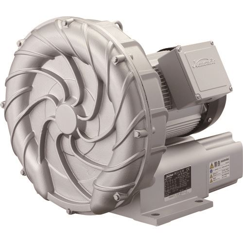 ■川本 渦流送風機 オメガブロワ(IE3モータ)  〔品番:RA70BE〕【1995622:0】「法人・事業所限定」・「外直送元」