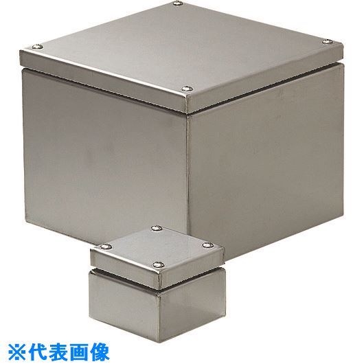 ■未来 ステンレスプールボックス(水切り防水)  〔品番:SUP-2515P〕【2051482:0】