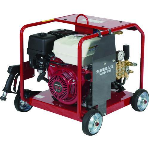 ■スーパー工業 エンジン式 高圧洗浄機 SER-1616-BS5  〔品番:SER-1616-BS5〕外直送元【2052666:0】【大型・重量物・個人宅配送不可】