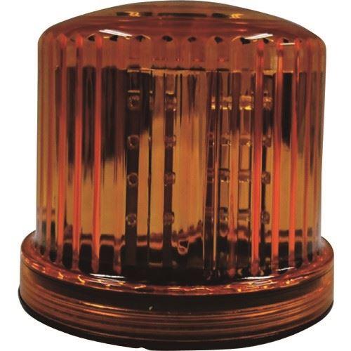 ?仙台銘板 LED回転・点滅灯 電池式 イエロー 20個入 〔品番:3082074〕外直送元【2108426×20:0】【個人宅配送不可】