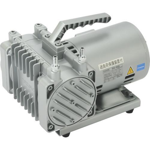 ?ULVAC 単相100V ダイアフラム型ドライ真空ポンプ 排気速度60/72 DA-60S 【2197014:0】