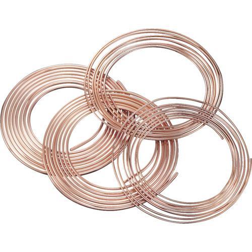 ■SUMITOMO 空調冷媒用軟質銅管10mコイル NDK-0810-10 (株)UACJ【2207923:0】