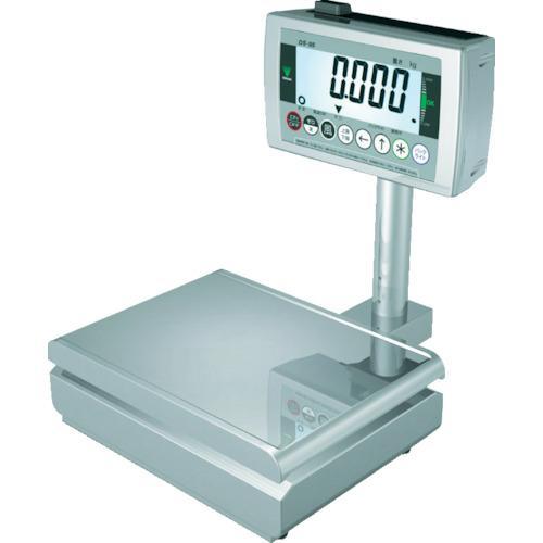 ■テラオカ 防水デジタル台秤  〔品番:DS-55K150〕【2506157:0】【大型・重量物・個人宅配送不可】