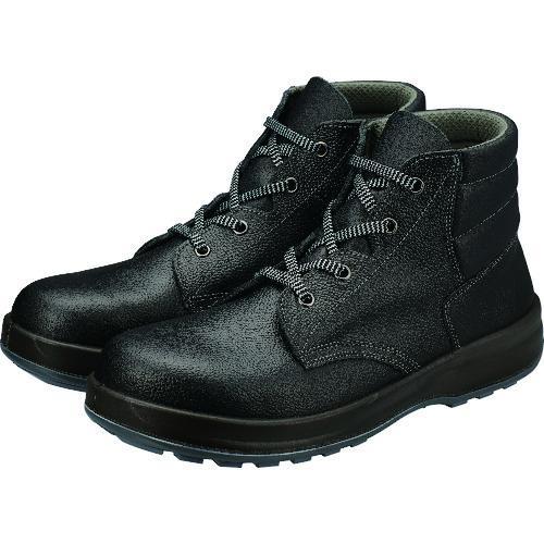 ■シモン 安全靴 編上靴 SS22黒 24.0cm SS22-24.0 シモン【2528665:0】