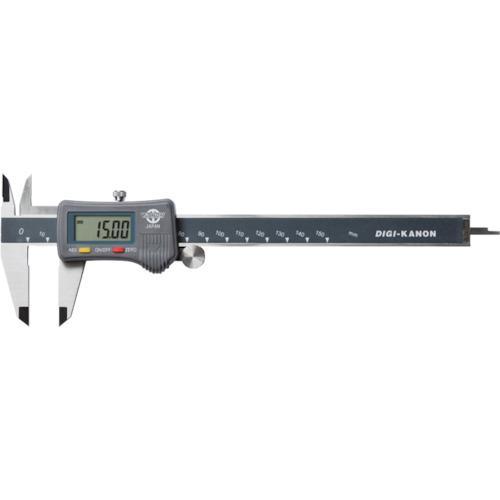 ■カノン デジタルピタノギス150mm E-PITA15 (株)中村製作所【2736411:0】