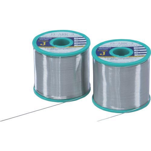 ■石川 エバソルARK(すず96.5%/銀3.0%/銅0.5%)-1.2mm-1kg J3ARK3-12 石川金属(株)【2741776:0】