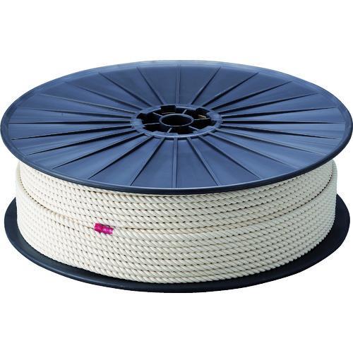 ■TRUSCO 綿ロープ 3つ打 線径6mmX長さ200m R-6200M トラスコ中山(株)【2767490:0】
