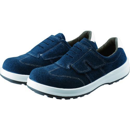 ■シモン 安全靴 短靴マジック式 SS18BV 25.0cm SS18BV-25.0 シモン【2811863:0】