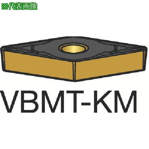 ■サンドビック コロターン107 旋削用ポジ・チップ 3210(10個) VBMT160408-KM 【2826151×10:0】