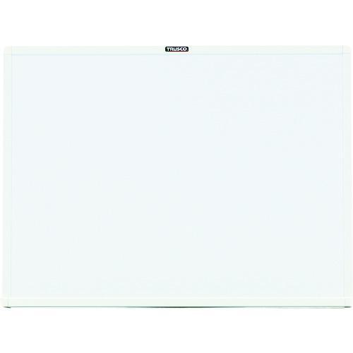 ■TRUSCO スチール製ホワイトボード 白 450X600 WGH-132S-W トラスコ中山(株)【2884925:0】