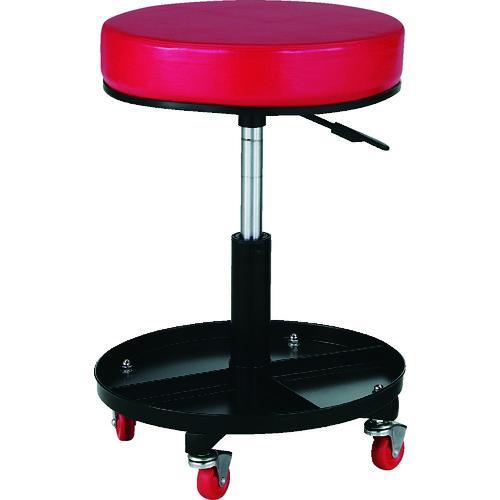 ■TRUSCO 工具入れ付作業椅子 Φ370XH440ー555 TWC-SR トラスコ中山(株)【2889218:0】