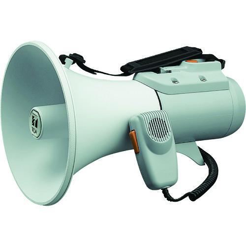 ■TOA 中型ショルダー型メガホン ホイッスル音付き ER-2115W TOA(株)【2904594:0】