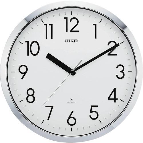 ■シチズン プルーフ522(掛時計)クロームメッキ  4MG522-050 【2942615:0】