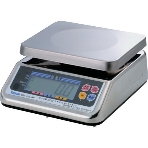 ■ヤマト 完全防水形デジタル上皿自動はかり UDS-1VN-WP-6 6kg 大和製衡(株)【3084752:0】