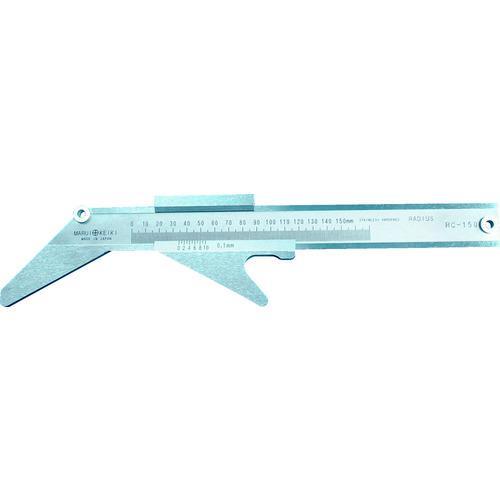 ■丸井 半径測定器 Rキャリパー RC-150 (株)マルイテクノ【3110168:0】