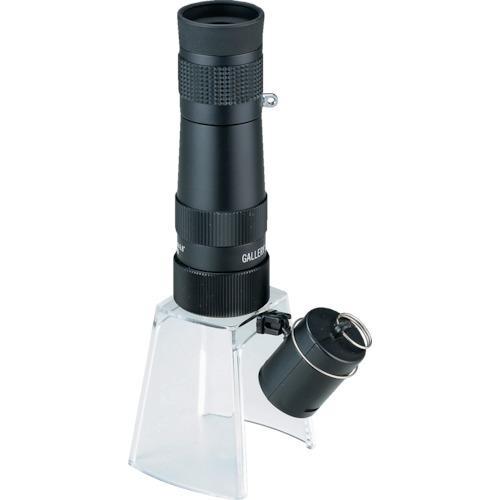 ■池田レンズ 顕微鏡兼用遠近両用単眼鏡 KM-820LS 【3213200:0】