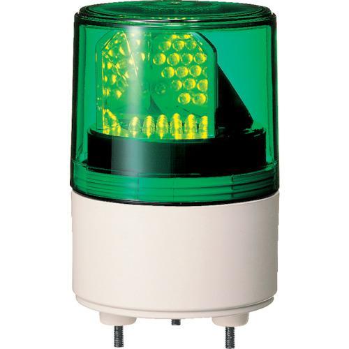 ■パトライト RLE型 LED超小型回転灯 Φ82 RLE-100-G (株)パトライト【3239543:0】