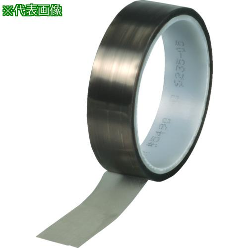 ■3M PTFEテープ(耐熱付着防止用) 5490 50MMX10M R  5490 【3284018:0】