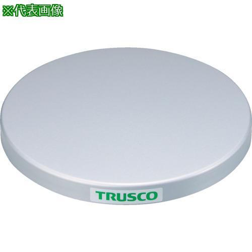 ■TRUSCO 回転台 100KG型 Φ400 スチール天板  TC40-10F 【3304370:0】