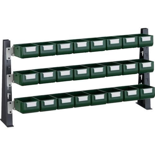 ■TRUSCO UPR型ライトビンラック卓上用 K-10GX24個  〔品番:UPR-ML1803G〕【3304582:0】【大型・重量物・個人宅配送不可】【送料別途見積もり】