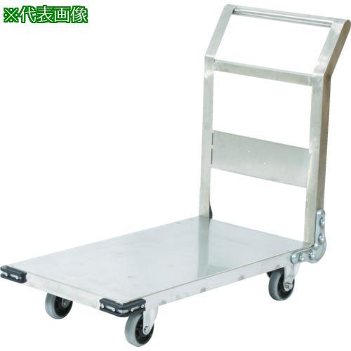 ■TRUSCO ステンレス鋼板製運搬車 固定式 900X600  〔品番:SHS-2〕直送元【3372766:0】【大型・重量物・個人宅配送不可】