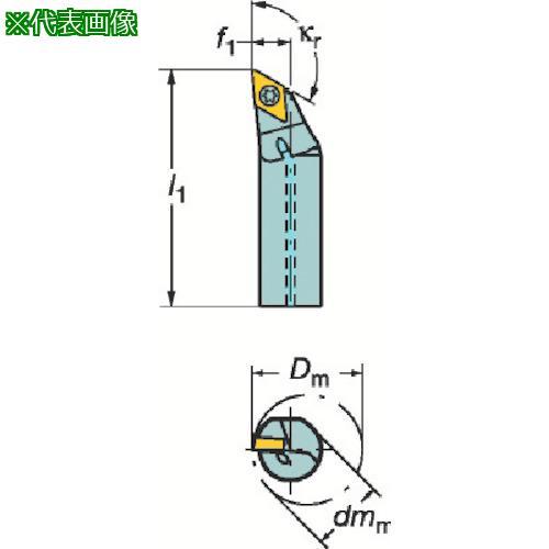 ■サンドビック コロターン107 ポジチップ用ボーリングバイト A12M-SDXCL07 【3391086:0】