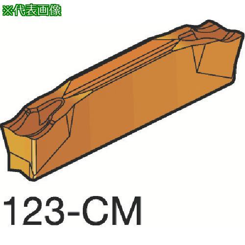 ■サンドビック コロカット2 突切り・溝入れチップ 1105(10個) N123F2-0250-0002-CM 【3393003×10:0】