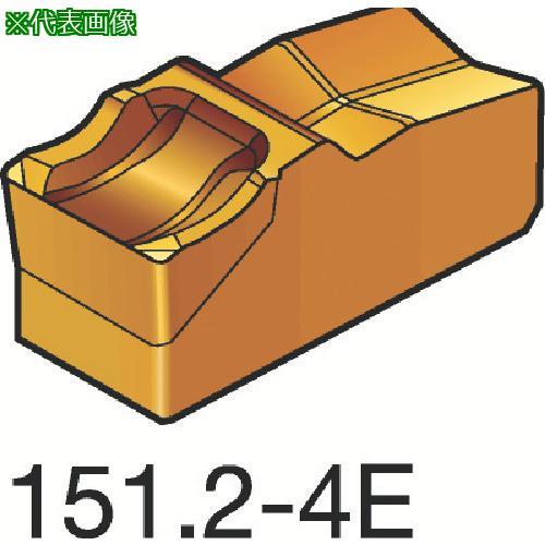 ■サンドビック T-Max Q-カット 突切り・溝入れチップ 4225(10個) R151.2-40005-4E 【3393429×10:0】