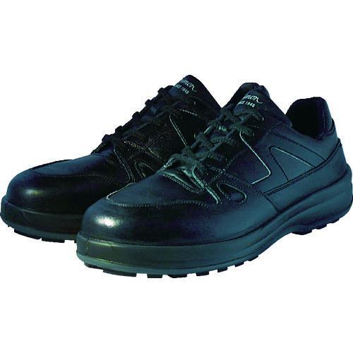 ■シモン 安全靴 短靴 8611黒 24.5cm 8611BK-24.5 (株)シモン【3513912:0】