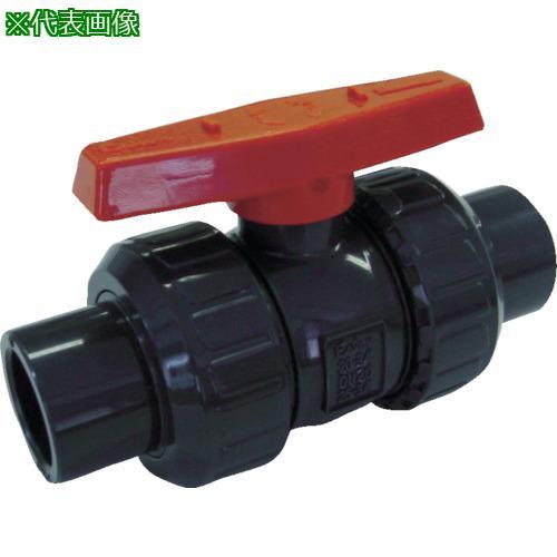 ■エスロン ボールバルブ TS式 本体PVC OリングEPDM 50 BV50SX 積水化学工業(株)【3514978:0】
