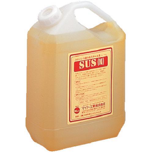 ■マイト スケーラ焼け取り用電解液 SUSN4L マイト工業(株)【3517926:0】