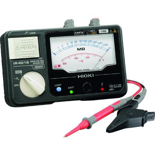 ■HIOKI メグオームハイテスタ 交流電圧(V)600  IR4015-10 【3557481:0】