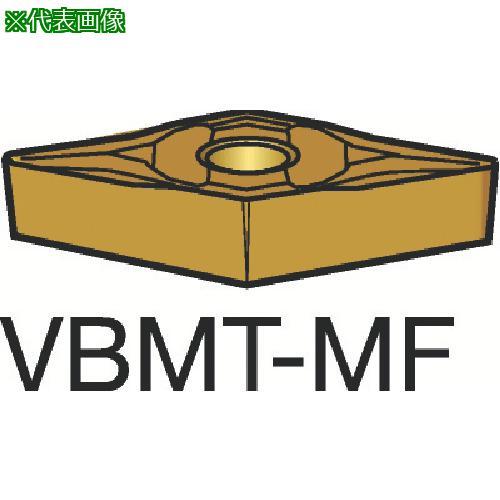 ■サンドビック コロターン107 旋削用ポジ・チップ 1125(10個) VBMT 【3584101×10:0】