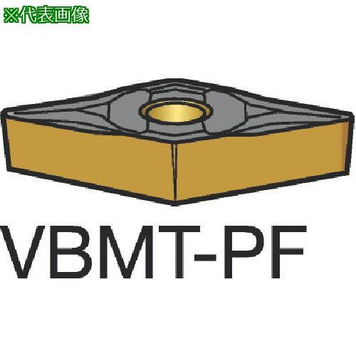 ■サンドビック コロターン107 旋削用ポジ・チップ 1515(10個) VBMT 【3584135×10:0】