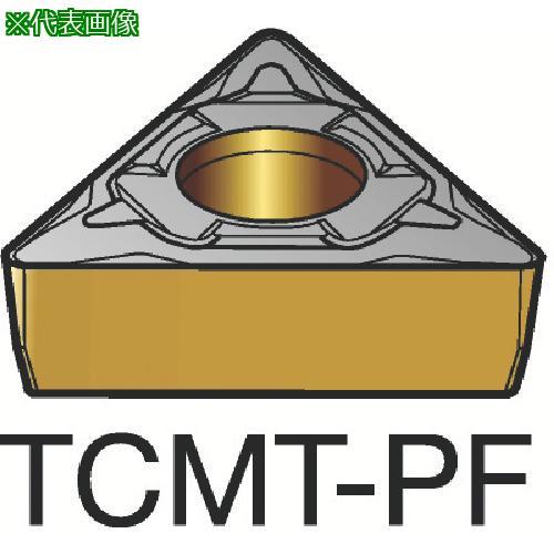 ■サンドビック コロターン107 旋削用ポジ・チップ 1515(10個) TCMT 【3586596×10:0】
