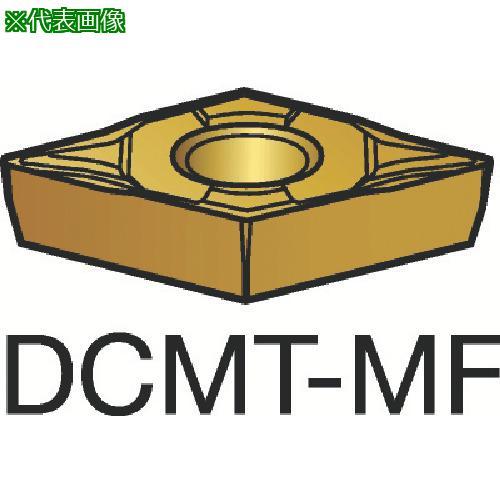 ■サンドビック コロターン107 旋削用ポジ・チップ 1125(10個) DCMT 【3591247×10:0】