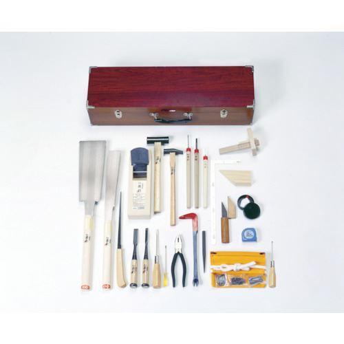 ■KAKURI 木工具セット 26点組 DK-26 角利産業(株)【3634361:0】