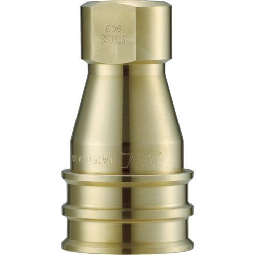 ■ナック クイックカップリング S・P型 真鍮製 オネジ取付用 CSP16S2 長堀工業(株)【3644197:0】