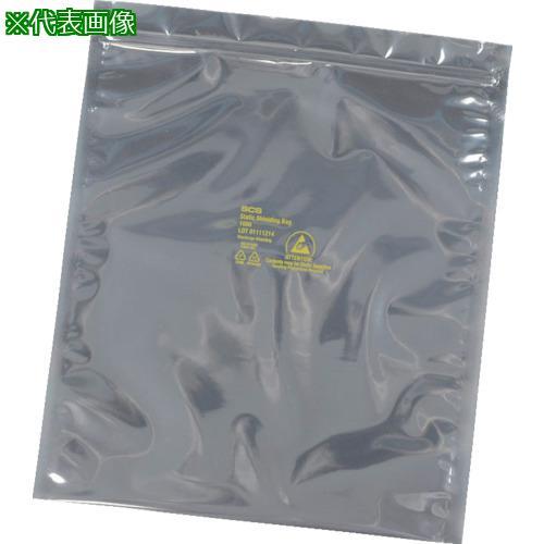 ■SCS 静電気シールドバッグ ジップトップタイプ381X457mm 100枚入 3001518 DESCO JAPAN(株)【3664295:0】