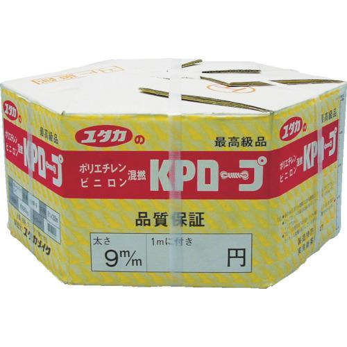 ■ユタカメイク KPメーターパックロープ 9mm×200m KMP-9 (株)ユタカメイク【3675785:0】