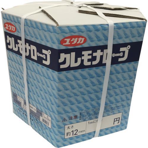 ■ユタカメイク クレモナメーターパックロープ 12mm×200m VMP-12 (株)ユタカメイク【3677966:0】
