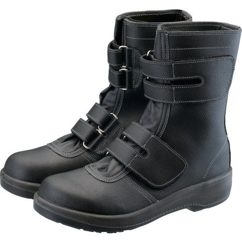 ■シモン 2層ウレタン耐滑軽量安全靴 7538黒 23.5CM  7538BK-23.5 【3681017:0】