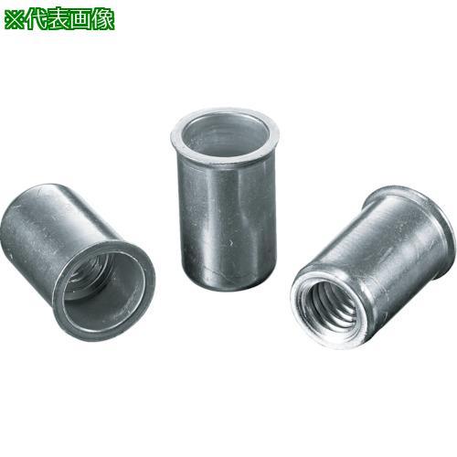 ■エビ ナット Kタイプ アルミニウム 4-2.5 (1000個入)  NAK425M 【3723658:0】