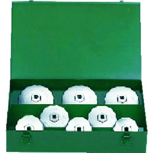■KTC カップ型オイルフィルタレンチセット[8コ組] AVSA08A 京都機械工具(株)【3730689:0】