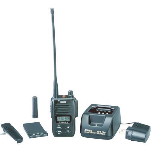 ■アルインコ デジタル登録局無線機1Wタイプ薄型セット DJDP10A 【3853730:0】