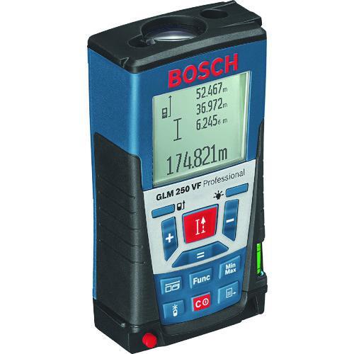 ■ボッシュ レーザー距離計 測定範囲0.05~250m GLM250VF ボッシュ(株)【3875091:0】