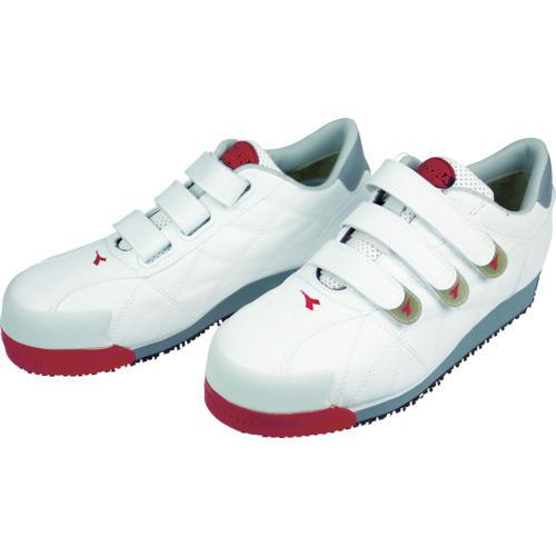 ■ディアドラ DIADORA 安全作業靴 アイビス 白 25.5cm IB11-255 ドンケル【3881474:0】
