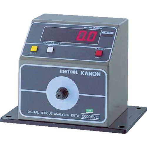 ■カノン 簡易型デジタル式トルクアナライザーKDTA-N200SVS (株)中村製作所【3922936:0】